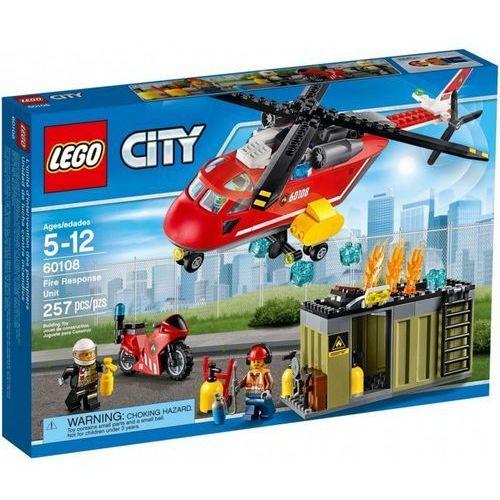 Helikoptery dla dzieci, Klocki Lego City Helikopter strażacki