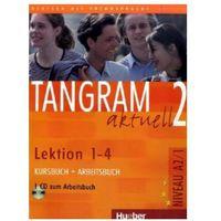 Audiobooki, Tangram Aktuell 2, Kursbuch und Arbeitsbuch mit CD, lekcje 1-4, edycja niemiecka.