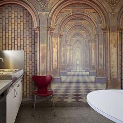 Fototapeta flizelinowa wodoodporna HD - The chamber of secrets 450 szer. 270 wys.