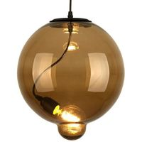 Lampy sufitowe, Lampa wisząca Modern Glass Bubble brąz