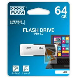 GOODRAM COLOR MIX 64GB USB2.0 BLACK&WHITE DARMOWA DOSTAWA DO 400 SALONÓW !!