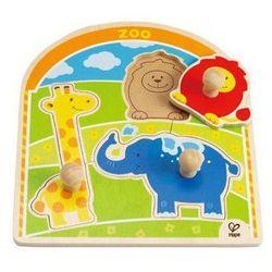 Puzzle drewniane - zoo