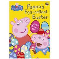 Książki do nauki języka, Peppa Pig: Peppa's Egg-cellent Easter Sticker Activity Book (opr. miękka)