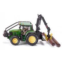 Traktory dla dzieci, SIKU FARMER JOHN DEERE TRAKTOR LESNY. Darmowy odbiór w niemal 100 księgarniach!