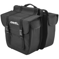 Bagażniki rowerowe, Red Cycling Products Travel Double Bag black Torby na bagażnik