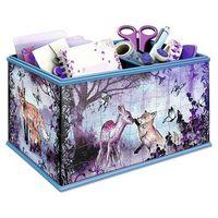 Puzzle, Ravensburger 3D Puzzle - Edycja Girly Girl: Pudełko na drobiazgi - Animal Trend