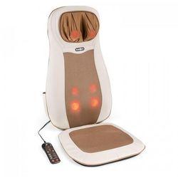 Nukuoro mata nakładka do masażu shiatsu 3 strefy masażu beżowa