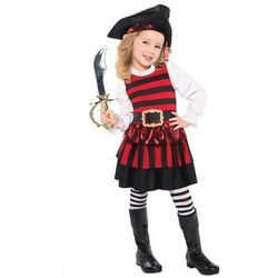 Kostium Piratka dla dziewczynki - 5/7 lat (116)