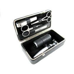 NAPPA BLACK - luksusowy, 6-częściowy zestaw do golenia i manicure, SOLINGEN-Kiehl