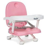Krzesełka do karmienia, Krzesełko do karmienia Moolino ACE 1013-3 Różowe