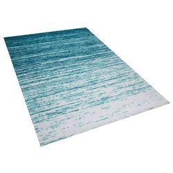 Dywan krótkowłosy niebieski 140 x 200 cm KATERINI