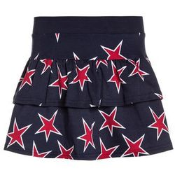 Fred's World by GREEN COTTON STAR SKIRT Spódnica mini navy