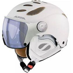 ALPINA JUMP JV VHM WHITE PROSECCO - kask narciarski R. 52-54