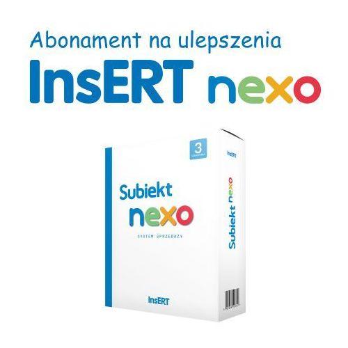 Programy kadrowe i finansowe, Abonament Subiekt Nexo (dodatkowe stan.)