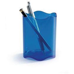 DURABLE Kubek na długopisy TREND, niebieski przezroczysty