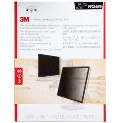"""3M Monitor indrammet databeskyttelsesfilter til 24"""" widescreen-skærm -"""