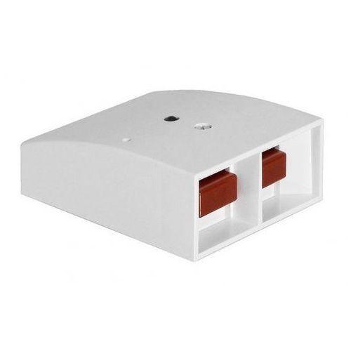Czujki alarmowe, HB 120 Elektroniczny przycisk alarmu z wyjściem przekaźnikowym, NC, biały Alarmtech