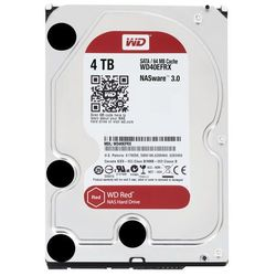 Western Digital Red, 4TB, 6Gbps