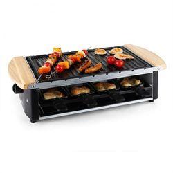 Chateaubriand grill raclette płyta grillowa szpikulce na szaszłyki 8 osób 1200 watów