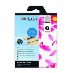 Brabantia - pokrowiec na deskę do prasowania 124 x 38cm - pianka 4mm + filc 4mm - pink santini - różowy