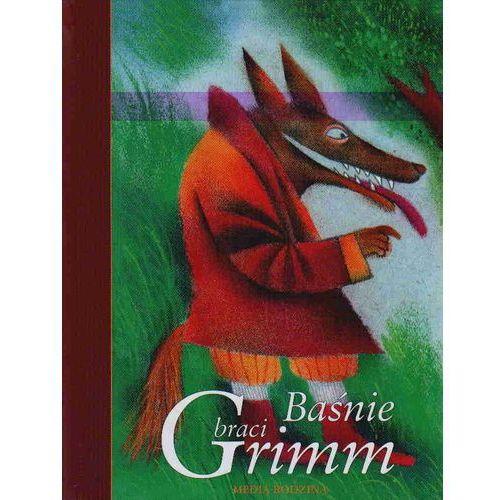 Książki dla dzieci, BAŚNIE BRACI GRIMM (opr. twarda)
