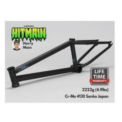 "Rama BMX Mafiabikes Hitmain 20.8"" Flat Black"