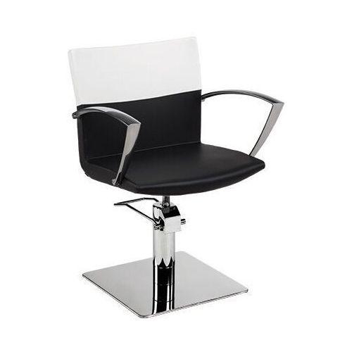 Meble fryzjerskie, Ayala Yoko 01 fotel fryzjerski na pompie hydraulicznej z możliwością wyboru podstawy