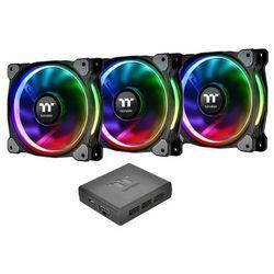 Thermaltake Riing Plus 12 LED RGB, 3 sztuki (CL-F053-PL12SW-A) Darmowy odbiór w 21 miastach!