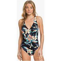 Stroje kąpielowe, strój kąpielowy ROXY - Pt Be Cl On Pce J Anthracite Tropicoco S (KVJ6) rozmiar: S