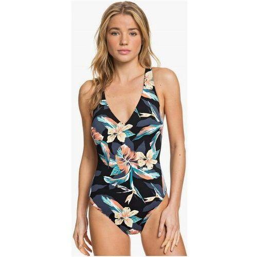 Stroje kąpielowe, strój kąpielowy ROXY - Pt Be Cl On Pce J Anthracite Tropicoco S (KVJ6) rozmiar: L