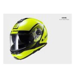 KASK LS2 FF325 STROBE CIVIK HI-VIS YELLOW / BLACK