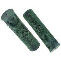 Rogi i chwyty do kierownicy, Chwyty kierownicy Dartmoor Maze Lite 125mm, nakładane, scout green, ciemno zielone