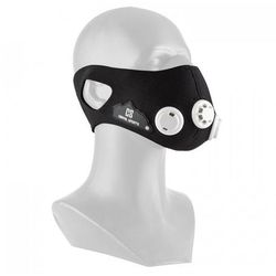 Breathor maska treningowa wysokogórska 7 nasadek rozmiar L czarna
