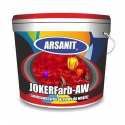 Farba akrylowa lateksowa wewnętrzna ARSANIT JOKERFarb–AW biała 10L