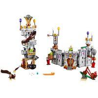 Klocki dla dzieci, Lego ANGRY BIRDS Zamek króla świnek 75826