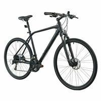 Pozostałe rowery, Rower INDIANA X-Cross 4.0 M19 Czarny   5 LAT GWARANCJI NA RAMĘ DARMOWY TRANSPORT