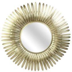 Lustro złote Feather