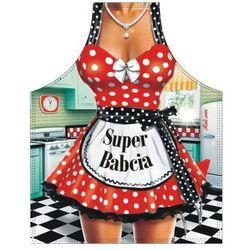 Fartuch groszki Super Babcia
