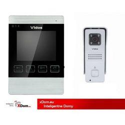 Zestaw Wideodomofonu S6S/M904S kolor Srebrny