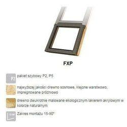 Okno dachowe FAKRO FXU P5 114x95 antywłamaniowe 3-szybowe nieotwierane