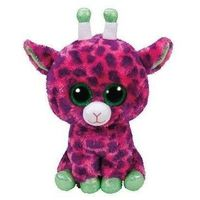 Pluszaki zwierzątka, Ty Beanie Boos Gilbert - Różowa Żyrafa 24 cm