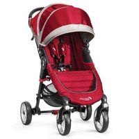 Wózki spacerowe, Wózek BABY JOGGER City Mini Single 4W Crimson/Gray + DARMOWY TRANSPORT!