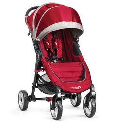 Wózek BABY JOGGER City Mini Single 4W Crimson/Gray + TANIEJ! Dodaj produkt do koszyka, sprawdź ile zaoszczędzisz! + DARMOWY TRANSPORT!