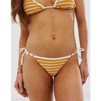 Stroje kąpielowe, Billabong Honey Daze Isla Bikini Bottom in terry towelling - Yellow