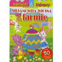 Książki dla dzieci, Niesamowita wiosna na farmie (opr. broszurowa)