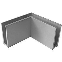 Profil balustrady szklanej Al AL/ELOX/Satin L195mm