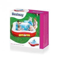 Baseny dla dzieci, Bestway 53050 BASEN FAMILIJNY HIPPO 2.01mx2.01mx91cm (51078, Bestway)