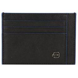 Piquadro Square Special Etui na karty bankowe RFID skórzana 11 cm black ZAPISZ SIĘ DO NASZEGO NEWSLETTERA, A OTRZYMASZ VOUCHER Z 15% ZNIŻKĄ