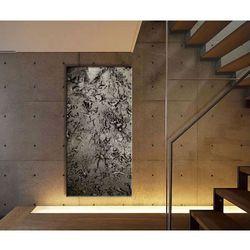 """Obrazy ręcznie malowane do dużych przestrzeni - """"stare srebro"""" rabat 15%"""