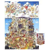 Puzzle, Piekło i niebo. Puzzle + plakat, 1500 elementów